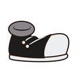 classic urban shoe vector image