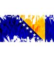 Flag of Bosnia and Herzegovina vector image