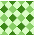 Green Leaf Diamond Chessboard Background vector image vector image