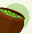 guacamole mexican sauce vector image