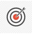 hit the bullseye vector image vector image
