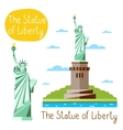 Landmarks concept Travel the world vector image vector image