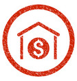 money storage rounded grainy icon vector image vector image