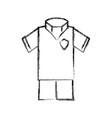 soccer sport wear vector image vector image