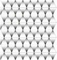 Black and white triangle pattern background vector image