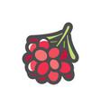 branch of coffee icon cartoon vector image