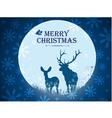 christmas deers vector image