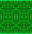 green seamless abstract psychedelic spiral stripe vector image vector image