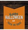 happy halloween card design vector image vector image