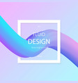 abstract 3d colorful composition vector image