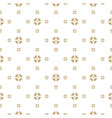 abstract geometric gold and white background vector image vector image