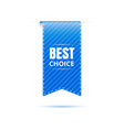 best choice bookmark icon discount price tags vector image vector image
