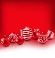Christmas and Happy New Year Abstract Background vector image