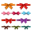 Gift ribbons set vector image