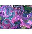 purple pink hand drawn artwork on water marble vector image
