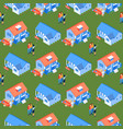seamless pattern property selection vector image vector image