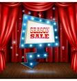 Season Sale Light Banner vector image vector image