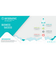 startup infographic with startup info template vector image