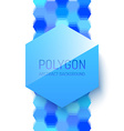 Abstract Polygonal Shape vector image