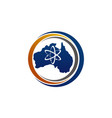 australia technology and science vector image