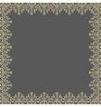 Floral Modern Frame vector image