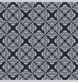 geometric hand-drawn seamless pattern vector image