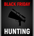 square poster for black friday sale vector image vector image