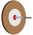 Target knife vector image vector image