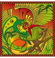 phoenix on the branch vector image