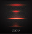glowing light effcets collection vector image