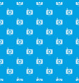 camera pattern seamless blue vector image