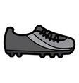 cleat shoe football soccer icon image vector image vector image