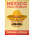 Mexican Poster vector image vector image