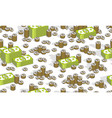 money cash seamless background backdrop for vector image vector image
