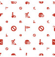 warning icons pattern seamless white background vector image vector image