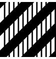 black stripes pattern vector image