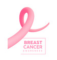 breast cancer awareness pink abstract background vector image vector image