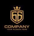 gg logo vector image vector image