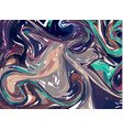 pastel hand drawn artwork on water marble texture vector image