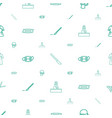 surgeon icons pattern seamless white background vector image vector image