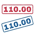 11000 Rubber Stamps vector image vector image