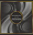 Abstract geometric graphic design halftone