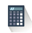 calculator for business and vector image