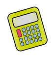 calculator tool to study and learn mathematica vector image vector image