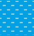 delivery wagon pattern seamless blue vector image vector image