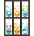 Furniture Concept Backdrop vector image vector image