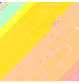 glitch diagonal background vector image