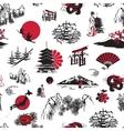 Japan background vector image