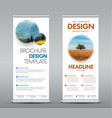 roll up banners 02-04 vector image
