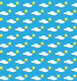 Seamless pattern of a day